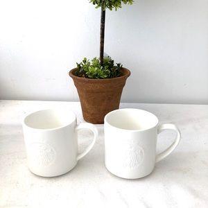 2 STARBUCKS Cofee Mug 12oz.